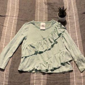 NWOT Toughskins Mint Green Girls Sweater